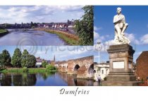 Dumfries Composite Postcard (HA6)