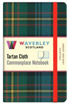 Tartan Cloth Notebook Pocket: Grant Ancient Hunting