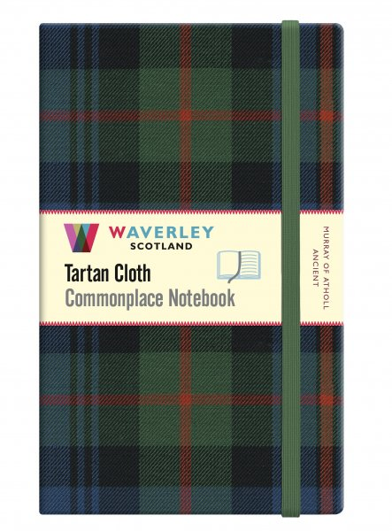 Tartan Cloth Notebook Large: Murray Atholl