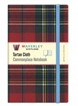 Tartan Cloth Notebook Large: Maclean of Duart