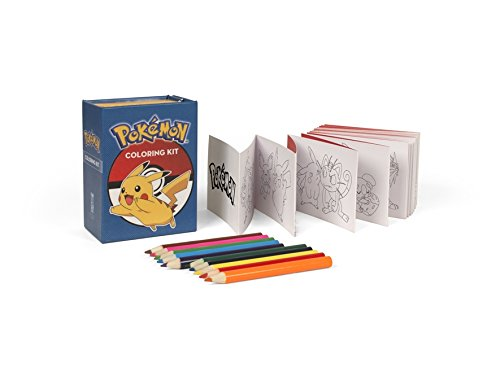 Pokemon Colouring Kit