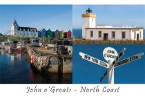 John o'Groats & the North Coast Composite Postcard (HA6)