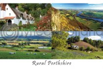 Rural Perthshire Composite Postcard (H A6 LY)