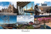 Dundee Composite Postcard (H A6 LY)