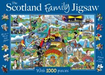Jigsaw Scotland Family 1000pc (Feb)