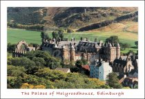 Palace of Holyroodhouse & Holyrood Park, Edinburgh Postcard (H S