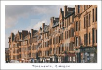 High Street Tenements, Glasgow Postcard (H Std CB)