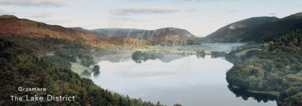 Grasmere, Lake District Postcard (H Pan CB)