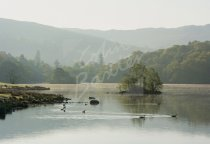 Rydal Water, Lake District Postcard (H Std CB)
