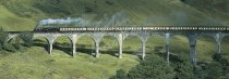 Glenfinnan Viaduct, West Highland Line Postcard (H Pan CB)