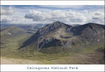 Cairn Toul, Cairngorms National Park Postcard (H Std CB)