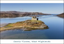 Castle Tioram, Moidart, West Highlands Postcard (H Std CB)