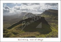 Quiraing, Trotternish, Isle of Skye Postcard (H Std CB)