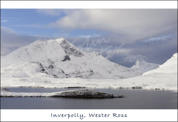 Inverpolly, Wester Ross Postcard (H Std CB)