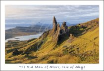 Old Man of Storr, Trotternish, Isle of Skye Postcard (H Std CB)