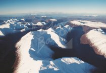 Five Sisters of Kintail, West Highlands From Air Postcard (H Std