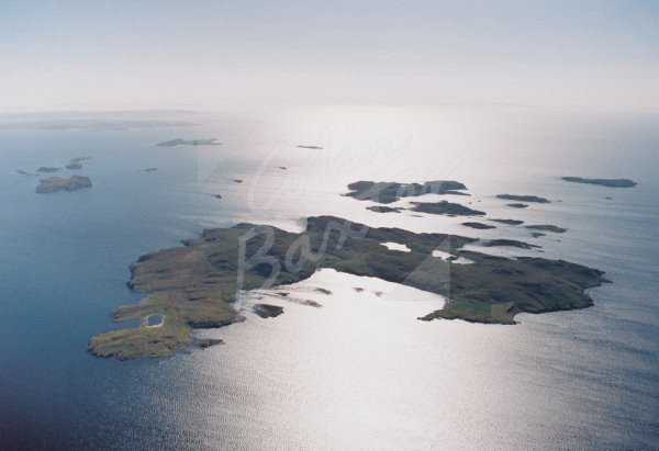 Summer Isles, Wester Ross From Air Postcard (H Std CB)