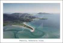 West Coast of Harris From Air Postcard (H Std CB)