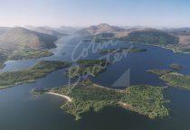 Loch Lomond From Air Postcard (H Std CB)