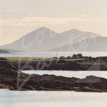 Ardban, Skye beyond Greetings Card (CB)