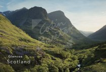Three Sisters, Glencoe, West Highlands Postcard (H Std CB)