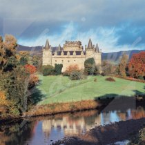 Inveraray Castle, Argyll Greetings Card (CB)