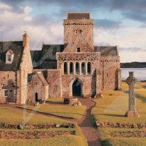 Iona Abbey Greetings Card (CB)