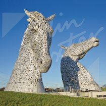 Kelpies Greetings Card (CB)