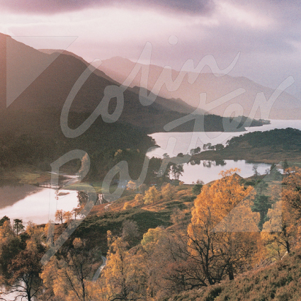 Loch Affric, West Highlands Greetings Card (CB)