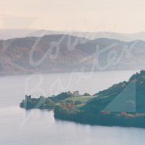 Loch Ness & Urquhart Castle Greetings Card (CB)
