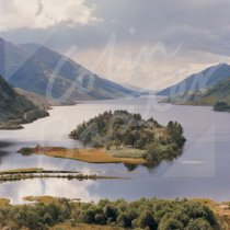 Loch Shiel, Glenfinnan Greetings Card (CB)