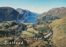 Glenfinnan & Loch Shiel, West Highlands Magnet (H CB)