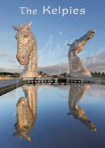 Kelpies at Dawn, Falkirk Magnet (V CB)