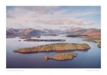 Loch Lomond from south Print