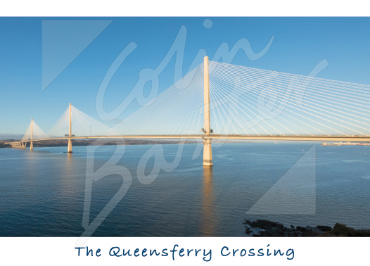 Queensferry Crossing & Forth Magnet (H CB) Magnet (V CB)