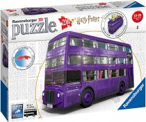 Jigsaw Harry Potter 3D Knight Bus