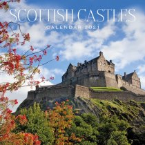 2021 Calendar Scottish Castles (2 for £6v) (Mar)