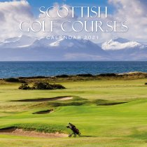 2021 Calendar Scottish Golf Courses (2 for £6v) (Mar)