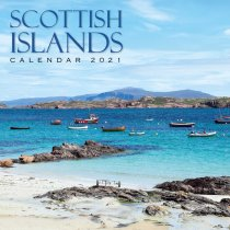 2021 Calendar Scottish Islands (2 for £6v) (Mar)
