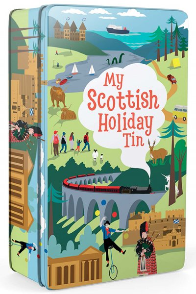 My Scottish Holiday Tin (Jul)
