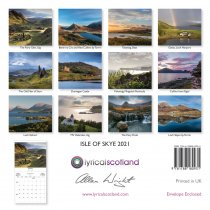 2021 Calendar Isle of Skye (Mar)