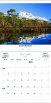 2021 Calendar Scotland's West Coast