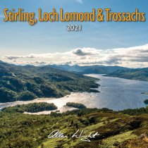 2021 Calendar Stirling, Loch Lomond & Trossachs (Mar)
