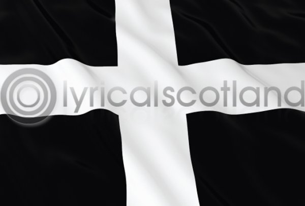 Cornish Flag Postcard (H A6 LY)
