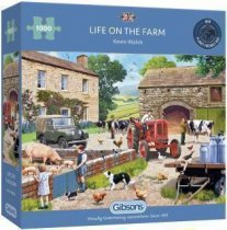 Jigsaw Life on the Farm 1000pc
