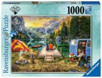Jigsaw Calm Campsite 1000pc