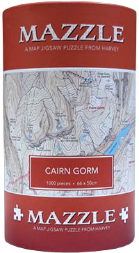 Mazzle Map Jigsaw Cairn Gorm (Harvey)