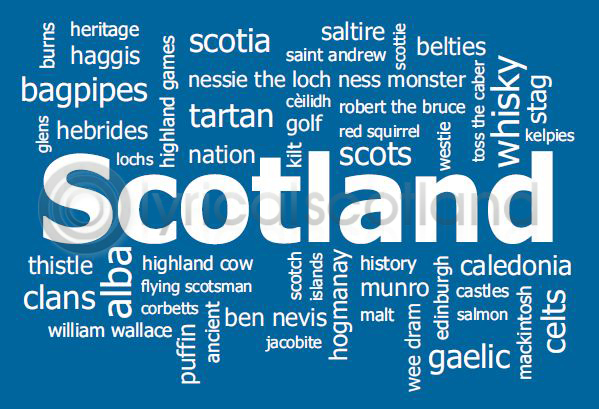 Lyrical Scotland Postcards
