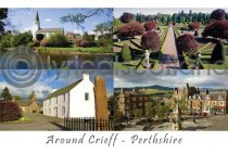 Around Crieff Composite Postcard (H A6 LY)