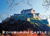 Edinburgh Castle in Autumn Magnet (H)
